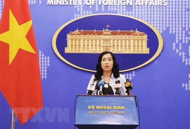 Vietnam values comprehensive partnership with US: spokesperson hinh anh 1