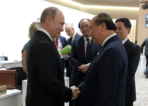 PM meets world leaders attending G20 Summit in Japan hinh anh 1