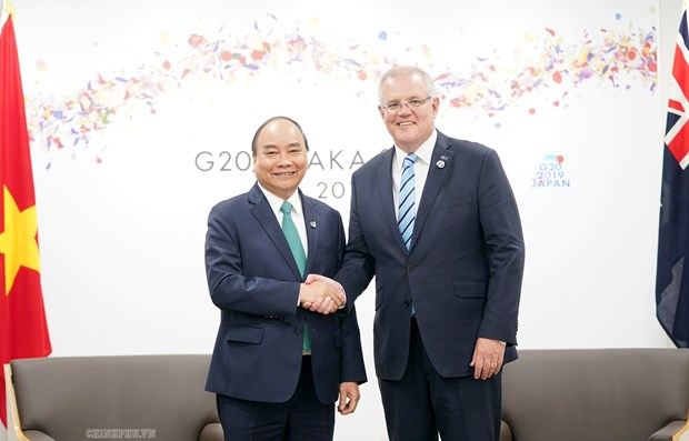 PM meets world leaders attending G20 Summit in Japan hinh anh 2
