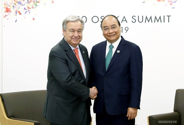 PM meets world leaders attending G20 Summit in Japan hinh anh 4