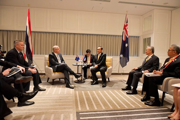 Australia backs Thailand's bid to seal RCEP hinh anh 1