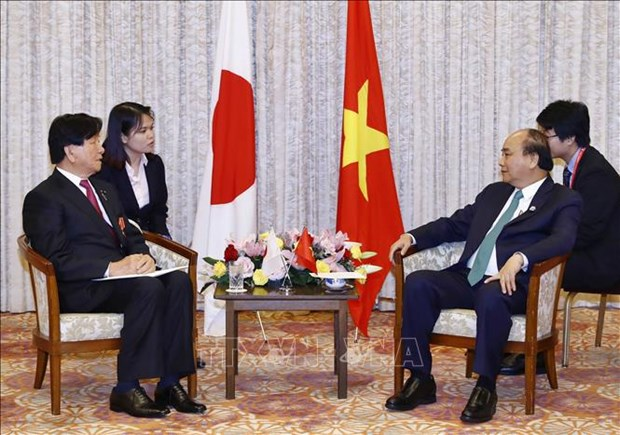 PM meets leaders of Japan-Vietnam Friendship Associations hinh anh 2
