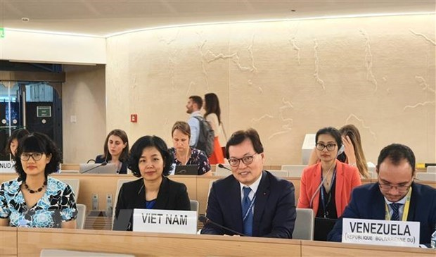 Vietnam attends UN Human Rights Council's 41st session hinh anh 1