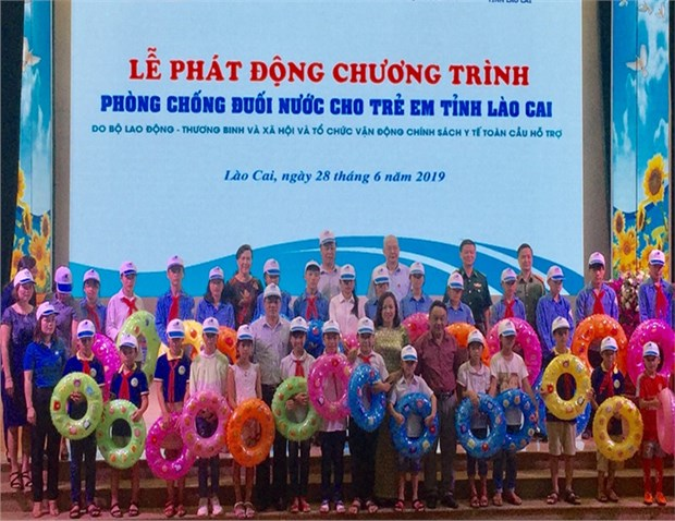 Efforts against child drowning strengthened in Lao Cai province hinh anh 1