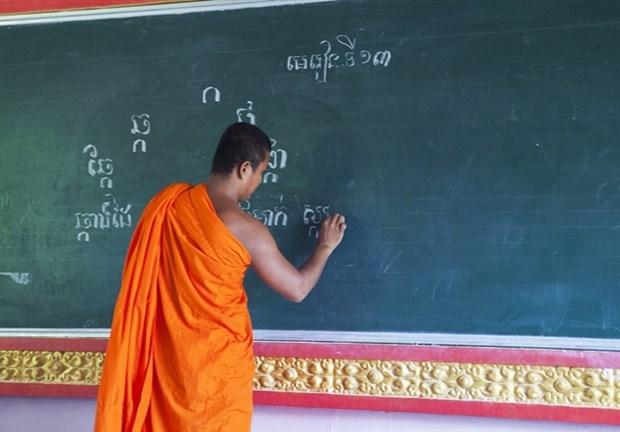 Khmer monks open summer classes hinh anh 1