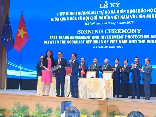 EVFTA puts pressure on Vietnamese firms to better competitiveness hinh anh 1
