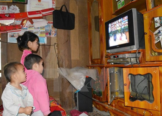 Analog terrestrial television switched off in 12 central provinces hinh anh 1