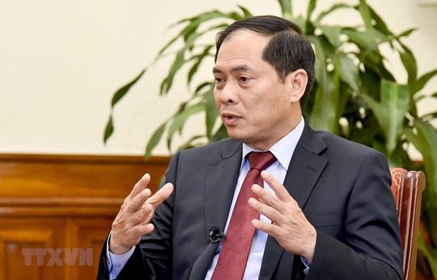 EVFTA provides new driving forces for Vietnam-EU partnership: Deputy FM hinh anh 1