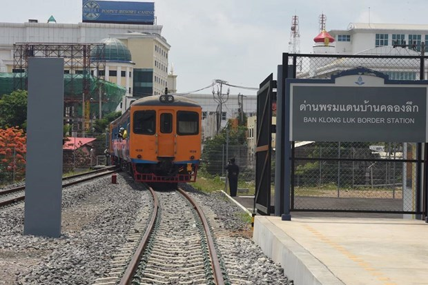 Thailand reopens train services to border with Cambodia after 45 years hinh anh 1