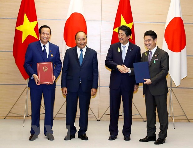 Vietnam, Japan agree on employing specific skilled workers hinh anh 1