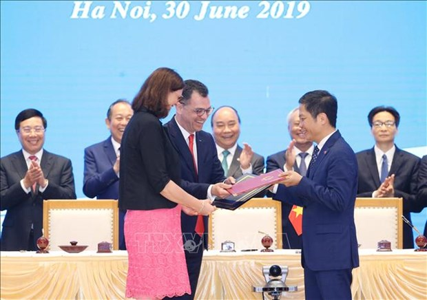 European media show positive assessment of EVFTA hinh anh 1