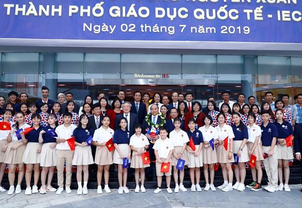 PM visits Quang Ngai's International Education City hinh anh 1