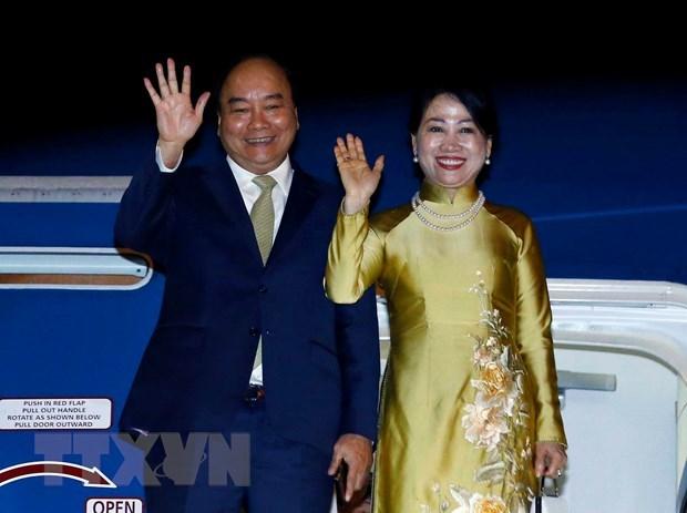 PM Nguyen Xuan Phuc concludes Japan trip hinh anh 1