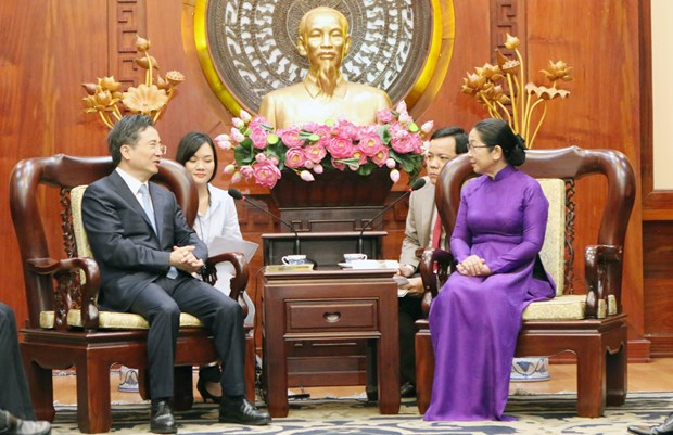 HCM City wants to boost cooperation with Chinese localities hinh anh 1