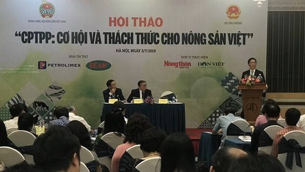CPTPP opens up opportunities for agricultural products hinh anh 1