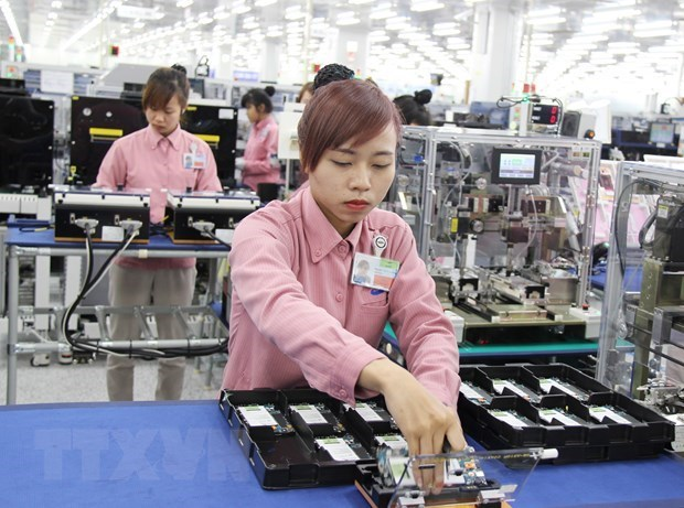 Vietnam's six-month industrial production up 9.13 percent hinh anh 1