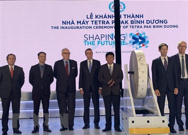 Tetra Pak inaugurates sterilised paper box plant hinh anh 1