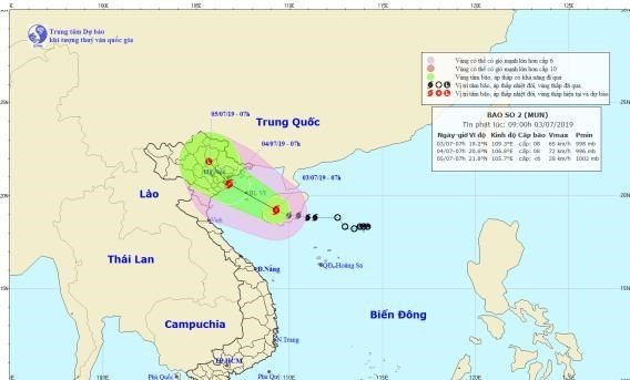 Quang Ninh bans vessels from sailing offshore ahead of typhoon hinh anh 1