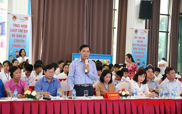 Forum in Thanh Hoa highlights children's rights hinh anh 1