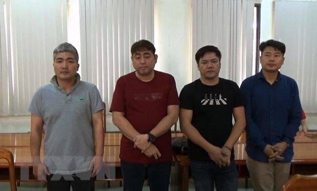 Korean-led illegal poker gambling house bust in HCM City hinh anh 1