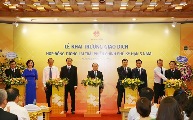 Government bond futures contracts launched on HNX hinh anh 1