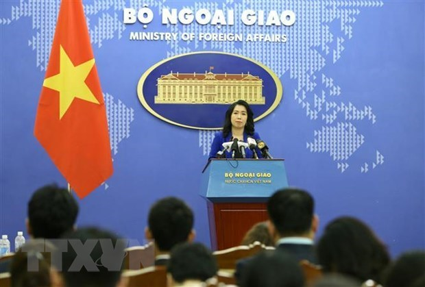 Vietnam calls for respecting national sovereignty, int'l law in East Sea hinh anh 1