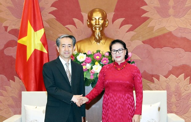 Vietnam values traditional friendship with China: NA Chairwoman hinh anh 1