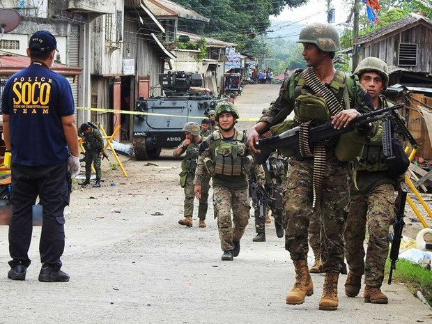 Philippines to apply new security measure to prevent suicide bombers hinh anh 1