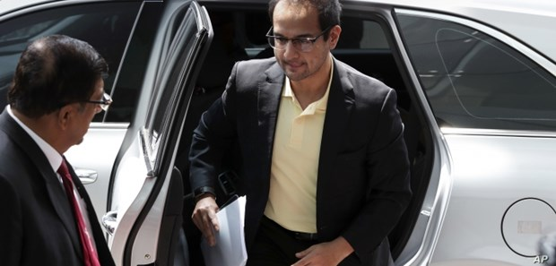 Former Malaysian PM's stepson to face money laundry charges hinh anh 1