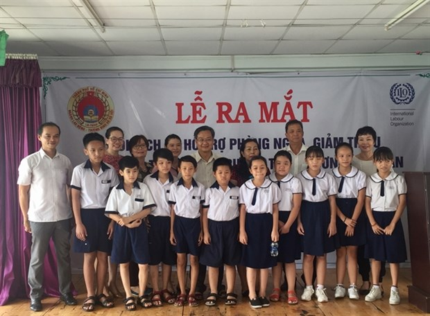 Training model to help eliminate child labour introduced in HCM City hinh anh 1