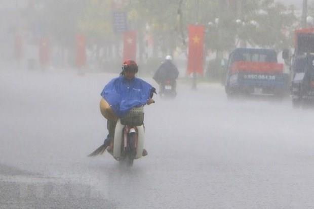 Typhoon Mun makes landfall in northern mainland hinh anh 1