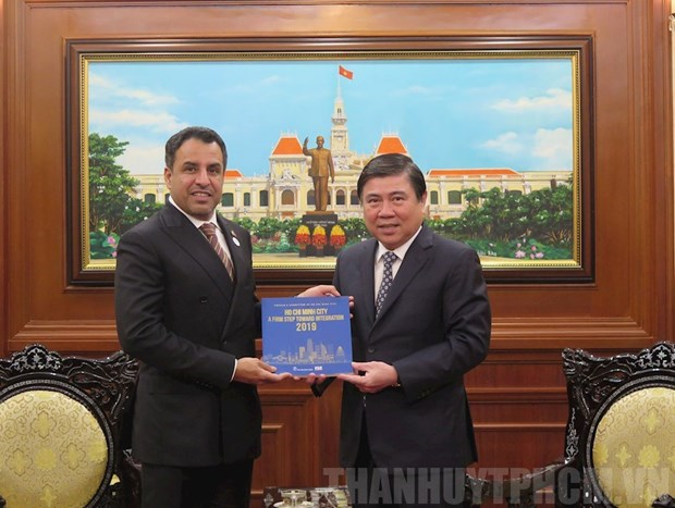 HCM City, UAE seek to enhance economic partnership hinh anh 1