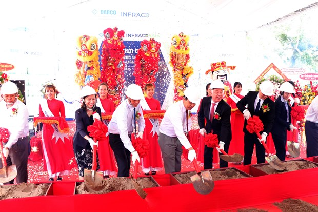 Water plant built in Ben Tre to serve over 100,000 people hinh anh 1