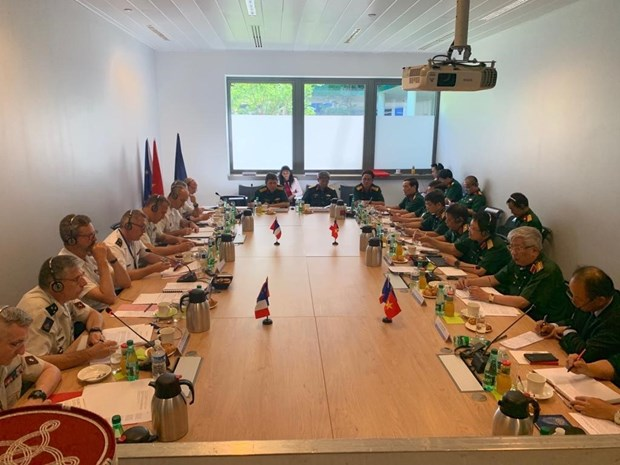 Vietnam, France look towards stronger defence partnership hinh anh 1