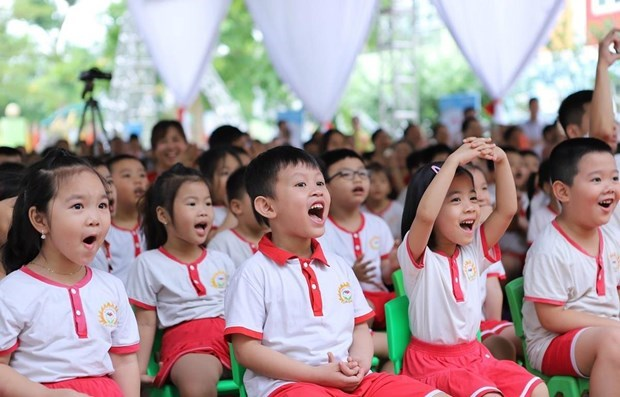 Study finds high rate of obesity among primary school students hinh anh 1