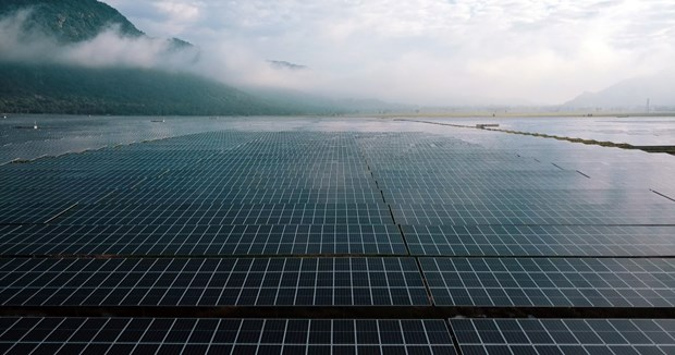 Major solar power plant becomes operational in An Giang hinh anh 1