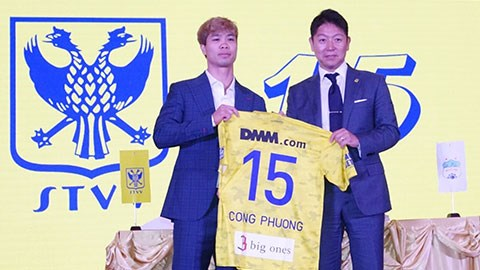 Striker Nguyen Cong Phuong signs deal with Belgian team hinh anh 1