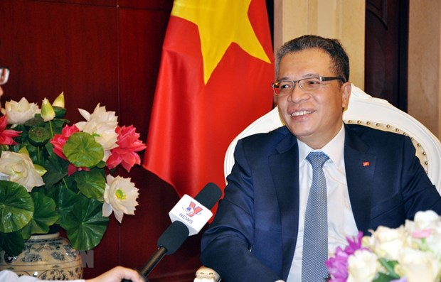 Top legislator's China visit to help consolidate political trust: diplomat hinh anh 1