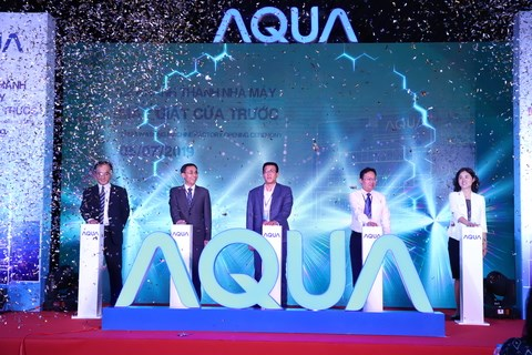 AQUA Vietnam sets up drum washing machine plant hinh anh 1