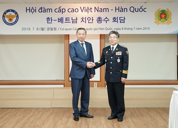 Vietnam, RoK to augment cooperation in ensuring security hinh anh 2