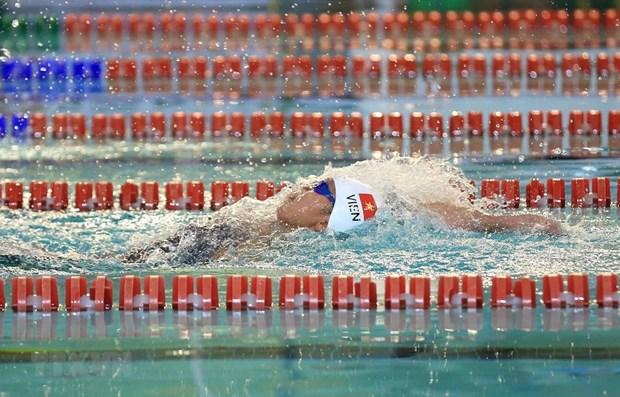 Vietnamese swimmers compete at FINA World Aquatics Championships hinh anh 1