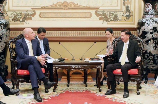 Swiss firms interested in HCM City's smart urban development hinh anh 1