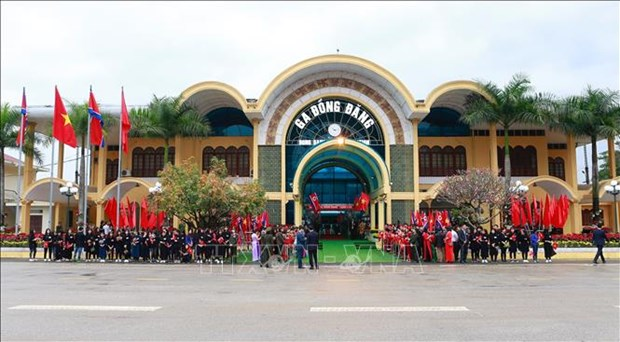 Lang Son's Dong Dang Int'l Railway Station recognised as tourist site hinh anh 1