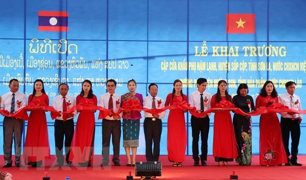 Nam Lanh-Muong Po auxiliary border gate pair inaugurated hinh anh 1