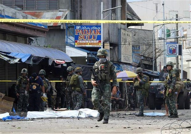 Filipino suicide bomber behind last month's attack identified hinh anh 1