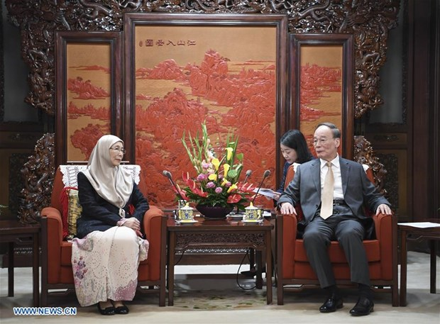 Malaysia, China boost bilateral ties hinh anh 1