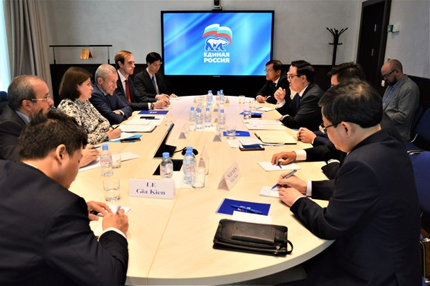 CPV delegation pays working visit to Russia hinh anh 1