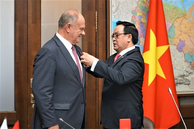 CPV delegation pays working visit to Russia hinh anh 2