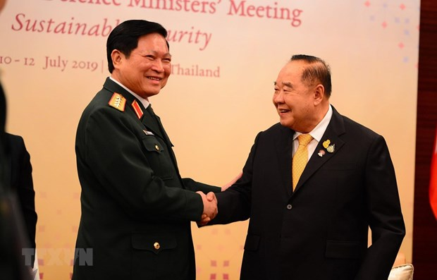 Defence minister hails Thailand's role in ASEAN defence cooperation hinh anh 1