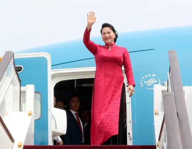 Top legislator arrives in Beijing, continuing official visit to China hinh anh 1